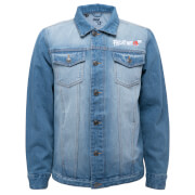 Friday The 13th A New Dimension In Terror Denim Jacket - Blue