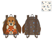 Loungefly Disney Fox And Hound Todd and Copper Cosplay Mini Backpack