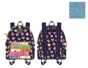 Loungefly Disney Princess Books AOP Mini Backpack