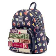Loungefly Disney Princess Books AOP Mini Backpack