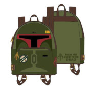 Loungefly Star Wars Boba Fett He's No Good To Me Dead Cosplay Mini Backpack