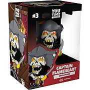 Youtooz Sea of Thieves Captain Flameheart 5 Inch Vinyl Figure Collectible