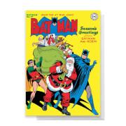 Batman Christmas Greetings Card