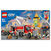 LEGO City: Fire Command Unit with Toy Fire Engine (60282)