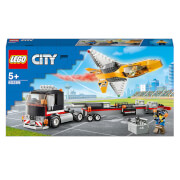LEGO City: Great Vehicles Airshow Jet Transporter Toy (60289)