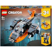 LEGO Creator: 3 in 1 Cyber Drone Building Set (31111)