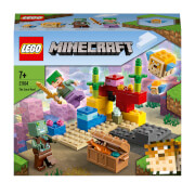 LEGO Minecraft: The Coral Reef Building Set with Alex (21164)