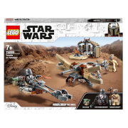LEGO Star Wars: The Mandalorian Trouble on Tatooine Set (75299)
