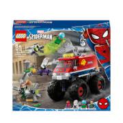 LEGO Marvel Spider-Mans Monster Truck vs Mysterio Toy (76174)