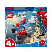 LEGO Marvel Spider-Man and Sandman Showdown Toy (76172)
