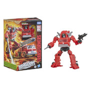 Hasbro Transformers Generations War for Cybertron: Kingdom Voyager WFC-K19 Inferno Action Figure