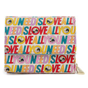 Loungefly The Beatles All You Need Is Love Wallet