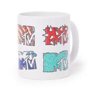 MTV Multiple Logos Mug