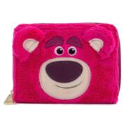 Loungefly Pixar Lotso Cosplay Sherpa Zip Around Wallet