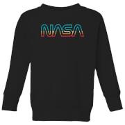 NASA Spectrum Kids' Sweatshirt - Black