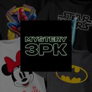 Girls' Mystery 3 Pack T-Shirts - Multi