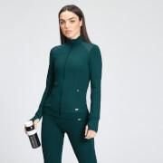 MP Women's Power Mesh Slim Fit Jacket - Deep Teal