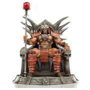 Iron Studios Mortal Kombat Deluxe BDS Art Scale Statue 1/10 Shao Khan 25 cm