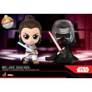 Hot Toys Cosbaby - Star Wars Rise of Skywalker (Size S) - Rey & Kylo Ren (Set of 2)