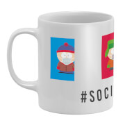 South Park Social Distancing Mug