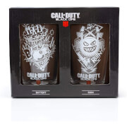 Call of Duty Two Pack of Glasses in a Presentation Box