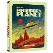 Forbidden Planet - Zavvi Exclusive Sci-fi Destination Series #1 Steelbook