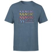 Magic: the Gathering Unisex T-Shirt - Navy Acid Wash