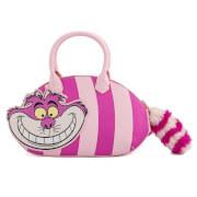 Loungefly Disney Alice In Wonderland Cheshire Cat Applique Cross Body Bag