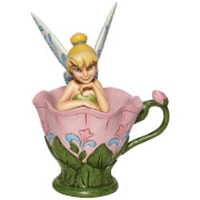 Disney Tinkerbell Sitting In A Flower