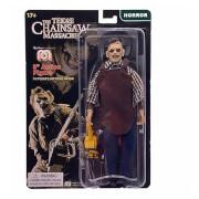 Figurine Mego 20 cm - Visage en cuir - Massacre à la tronçonneuse