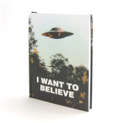 Coop X-Files I Want to Believe Journal Hardcover