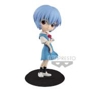 Bandai Q Posket Rei Ayanami Blue Version Figure