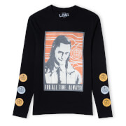 Marvel Loki For All Time Unisex Long Sleeve T-Shirt - Black
