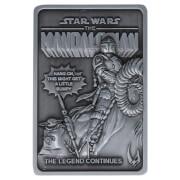 Star Wars The Mandalorian Din Djarin and the Child Ingot Replica - Zavvi Exclusive