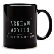 Batman Arkham Asylum Mug - Black