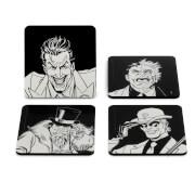 Batman Villains Icon Coaster Set