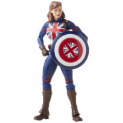 Hasbro Marvel Legends Series Marvel's Captain Carter What If Action Figure and Build-a-Figure Parts