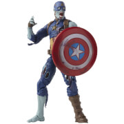 Hasbro Marvel Legends Series Zombie Captain America What If Action Figure and Build-a-Figure Parts