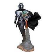 Gentle Giant Star Wars Milestones The Mandalorian Mandalorian & Child Statue
