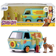 Jada Toys Mystery Machine 1:24 With Scooby And Shaggy