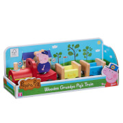Peppa Pig Grandpa Pig's Wooden Train Toy