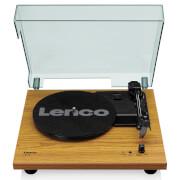 Lenco LS-10 WD Tourne-disque avec haut-parleurs intégrés - Bois