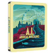 A.I - Zavvi Exklusives Sci-fi Destination Series #4 Steelbook