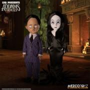 Mezco LDD Presents Addams Family Gomez and Morticia Dolls 2-Pack