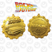 Back to the Future 24k Gold Plated Stopwatch Limited Edition Medallion - Zavvi Exclusive