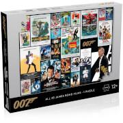 James Bond Movie Posters 1000 piece Jigsaw Puzzle