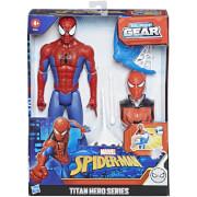 Hasbro Marvel Titan Hero - Blast Gear Spiderman Action Figure