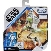Hasbro Star Wars Mission Fleet Figurine articulée Clone Captain Rex