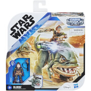 Hasbro Star Wars Mission Fleet Kuiil Blurrg Action Figure
