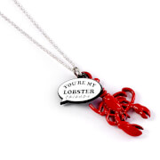 Friends You're My Lobster Charm Necklace